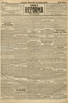 Nowa Reforma (numer poranny). 1907, nr73