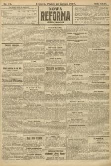 Nowa Reforma (numer poranny). 1907, nr75