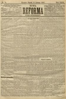 Nowa Reforma (numer popołudniowy). 1907, nr76
