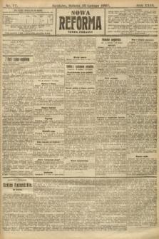 Nowa Reforma (numer poranny). 1907, nr77