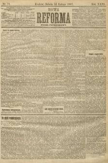 Nowa Reforma (numer popołudniowy). 1907, nr78