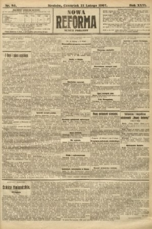 Nowa Reforma (numer poranny). 1907, nr85