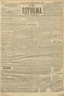 Nowa Reforma (numer popołudniowy). 1907, nr86