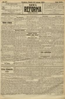 Nowa Reforma (numer poranny). 1907, nr87