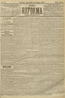 Nowa Reforma (numer popołudniowy). 1907, nr98