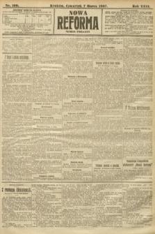 Nowa Reforma (numer poranny). 1907, nr109