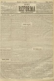 Nowa Reforma (numer popołudniowy). 1907, nr110