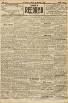 Nowa Reforma (numer poranny). 1907, nr111