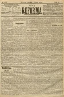 Nowa Reforma (numer popołudniowy). 1907, nr114