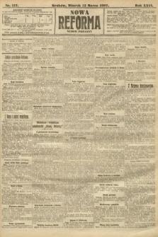 Nowa Reforma (numer poranny). 1907, nr117