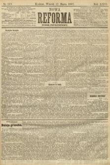 Nowa Reforma (numer popołudniowy). 1907, nr118