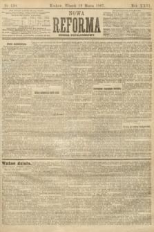 Nowa Reforma (numer popołudniowy). 1907, nr130