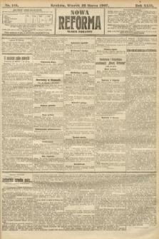 Nowa Reforma (numer poranny). 1907, nr141