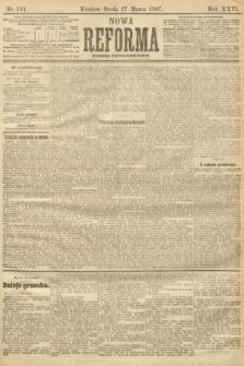 Nowa Reforma (numer popołudniowy). 1907, nr144