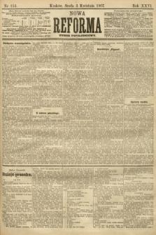 Nowa Reforma (numer popołudniowy). 1907, nr153