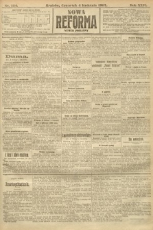 Nowa Reforma (numer poranny). 1907, nr154
