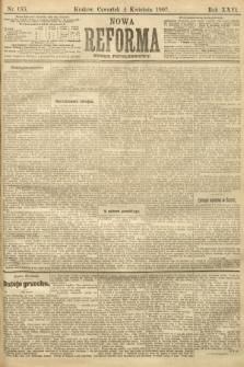 Nowa Reforma (numer popołudniowy). 1907, nr155