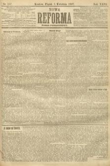 Nowa Reforma (numer popołudniowy). 1907, nr157