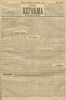 Nowa Reforma (numer popołudniowy). 1907, nr159