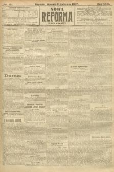 Nowa Reforma (numer poranny). 1907, nr161