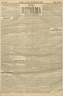 Nowa Reforma (numer popołudniowy). 1907, nr168