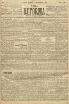 Nowa Reforma (numer popołudniowy). 1907, nr170