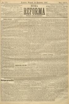 Nowa Reforma (numer popołudniowy). 1907, nr174