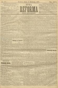 Nowa Reforma (numer popołudniowy). 1907, nr176