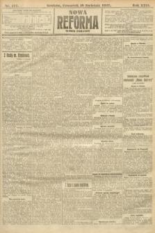 Nowa Reforma (numer poranny). 1907, nr177