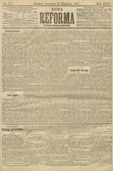 Nowa Reforma (numer popołudniowy). 1907, nr178
