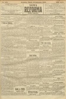 Nowa Reforma (numer poranny). 1907, nr179