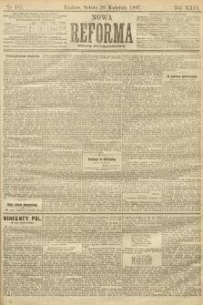 Nowa Reforma (numer popołudniowy). 1907, nr182