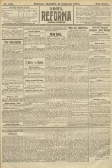 Nowa Reforma (numer poranny). 1907, nr183