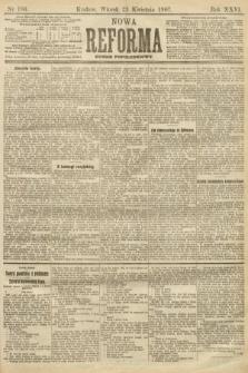 Nowa Reforma (numer popołudniowy). 1907, nr186
