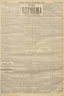 Nowa Reforma (numer popołudniowy). 1907, nr190