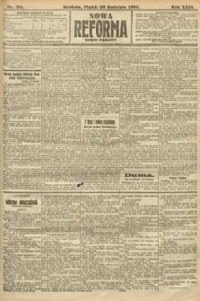 Nowa Reforma (numer poranny). 1907, nr191