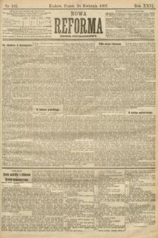 Nowa Reforma (numer popołudniowy). 1907, nr192
