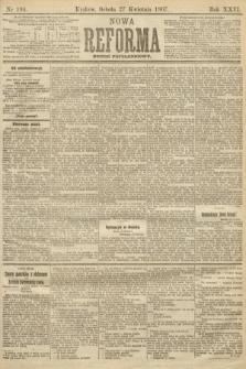 Nowa Reforma (numer popołudniowy). 1907, nr194