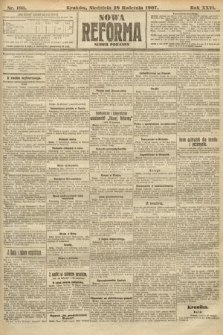 Nowa Reforma (numer poranny). 1907, nr195