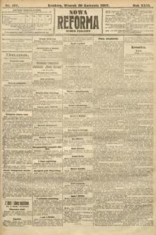 Nowa Reforma (numer poranny). 1907, nr197