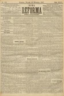 Nowa Reforma (numer popołudniowy). 1907, nr198