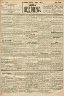 Nowa Reforma (numer poranny). 1907, nr199