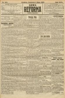 Nowa Reforma (numer poranny). 1907, nr201
