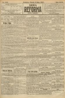 Nowa Reforma (numer poranny). 1907, nr203