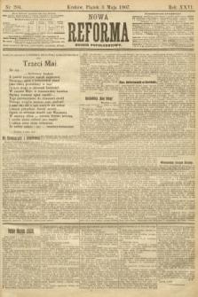 Nowa Reforma (numer popołudniowy). 1907, nr204