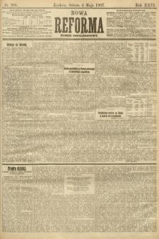 Nowa Reforma (numer popołudniowy). 1907, nr206