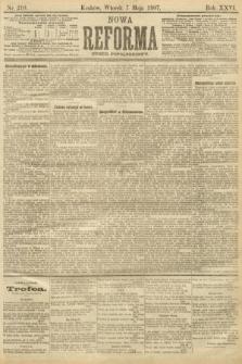 Nowa Reforma (numer popołudniowy). 1907, nr210