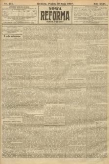 Nowa Reforma (numer poranny). 1907, nr212