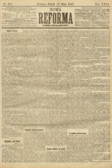 Nowa Reforma (numer popołudniowy). 1907, nr213