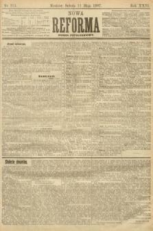 Nowa Reforma (numer popołudniowy). 1907, nr215